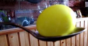 Желтое яйцо