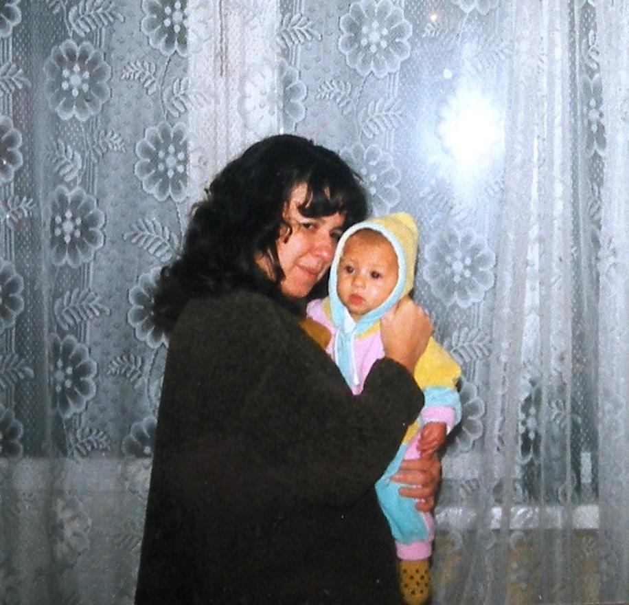Малыш на руках