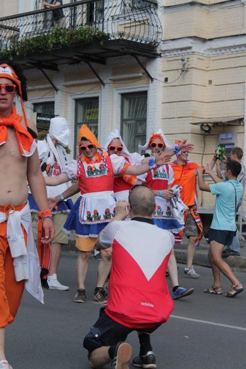 танцы на улицах