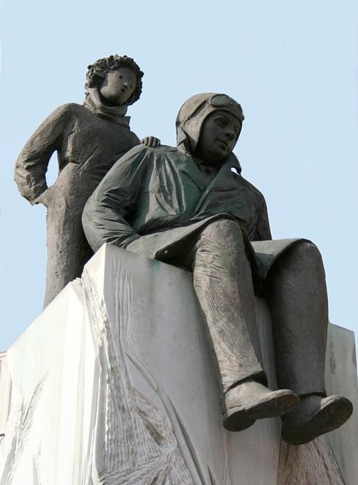 Памятник в Лионе