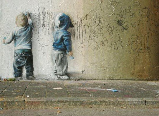 рисунок дети рисуют