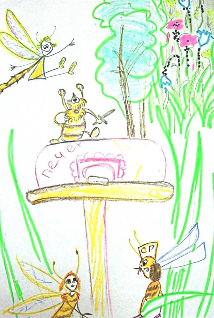 Приключения Пчелки в чужом лесу