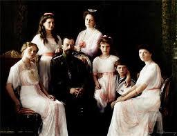 Царь Николай II с семьей