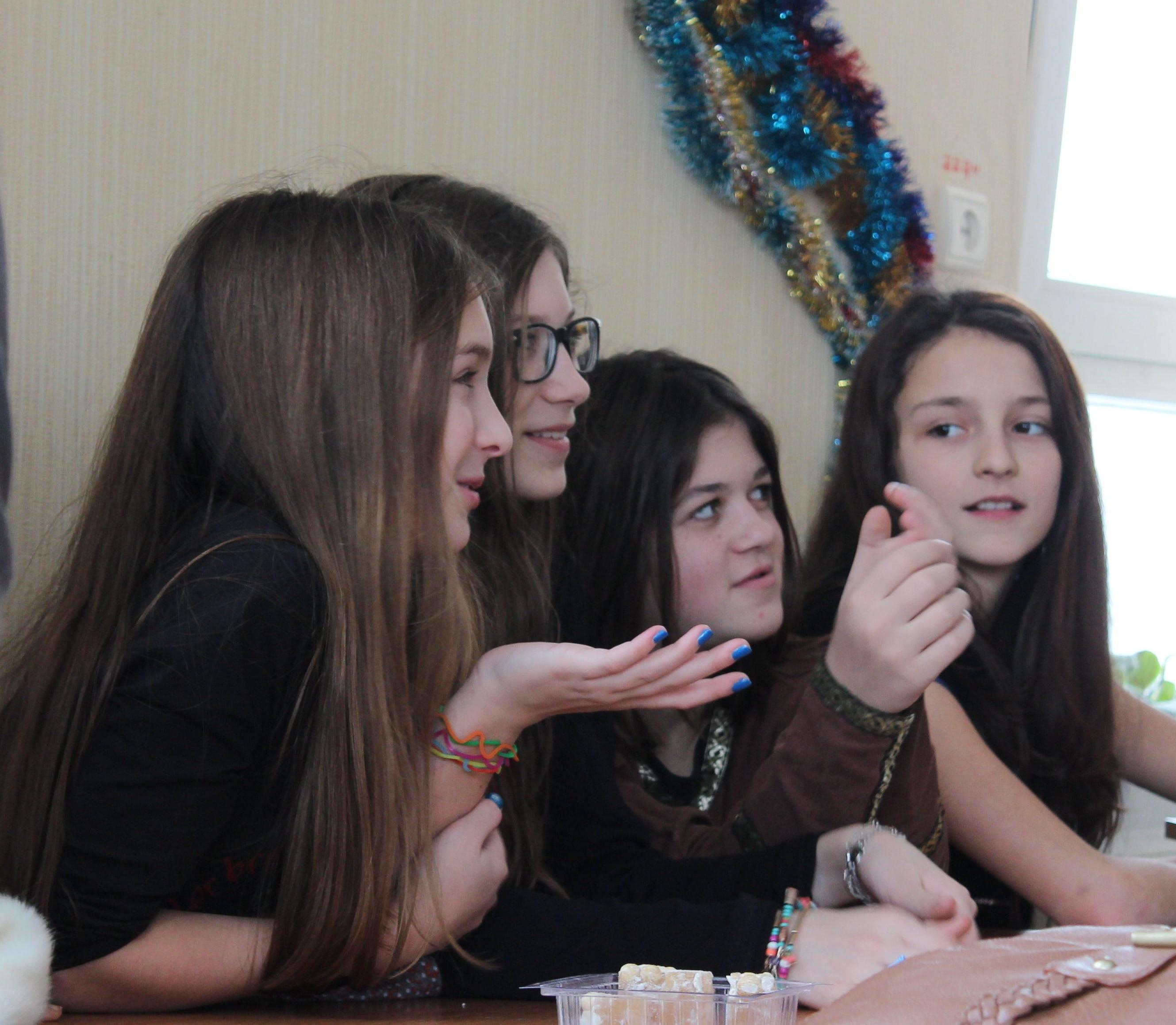 Девочки 6-б