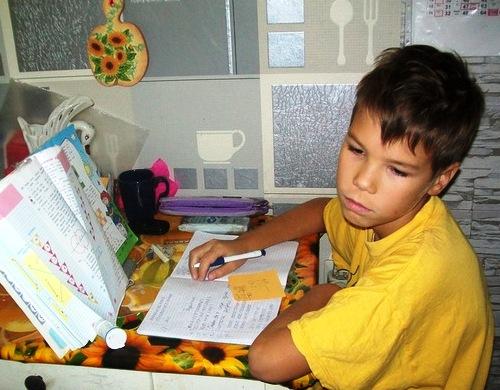 дети и уроки