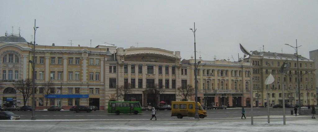 Бекетовская линия, площадь Конституции.