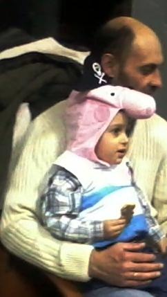 Папа с деткой